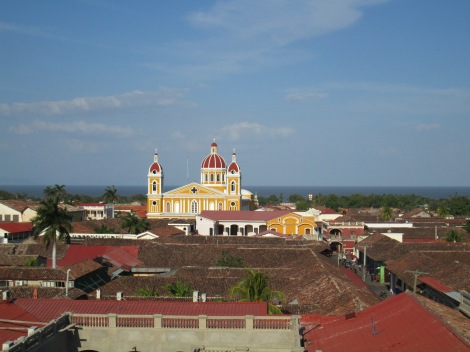 View from Inglesia de la Merced