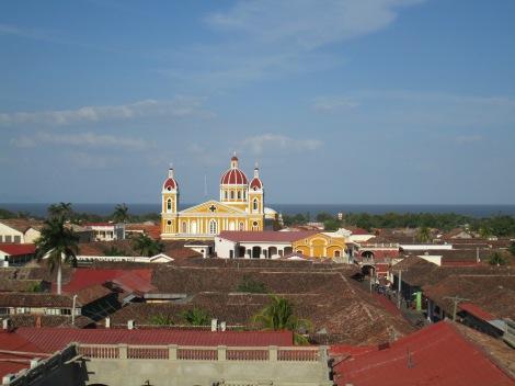 View from Inglesia de la Merced