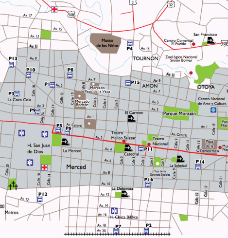 SJ downtown map