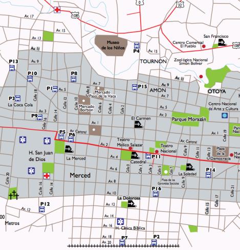 SJ downtown map