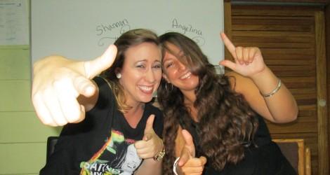 Angelina and I